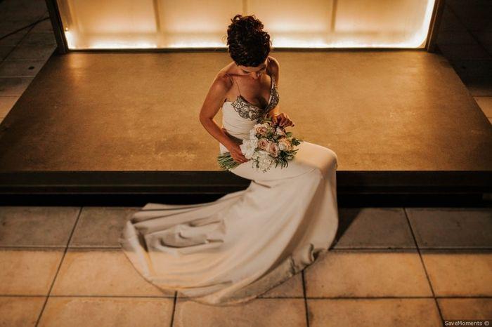 Fotos com pose: noiva sentada 👰 2