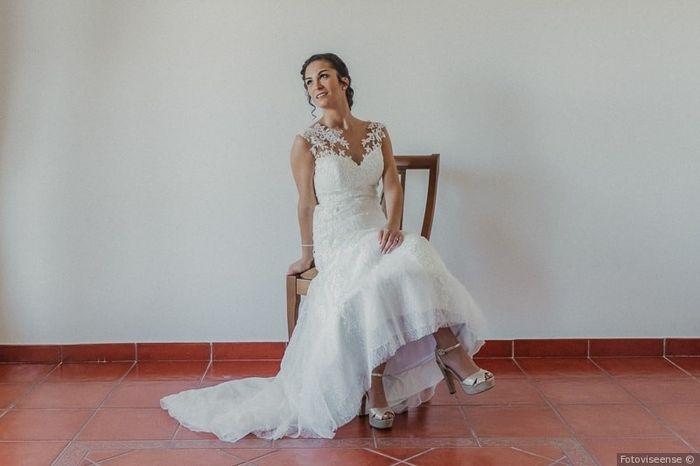 Fotos com pose: noiva sentada 👰 3