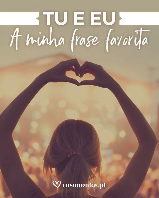 Último passo: leva o teu presente partilhando a tua frase de amor preferida! 1