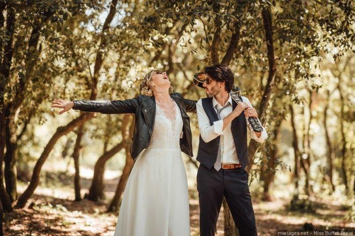 2 casamentos, 2 estilos: qual preferes? 1