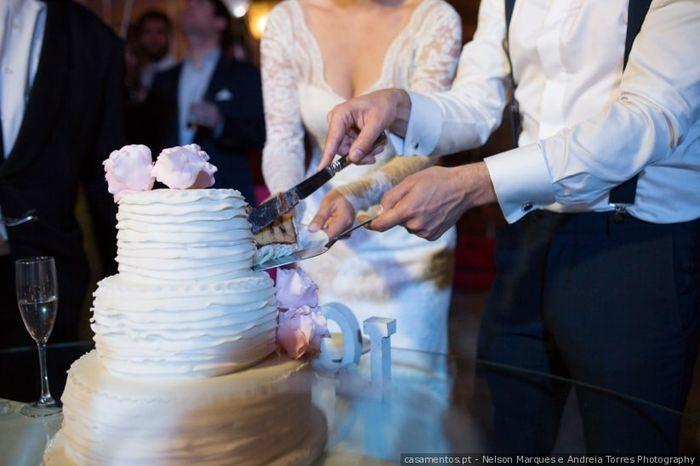 Vão partir o bolo em conjunto? 1