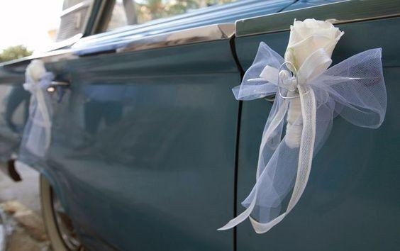 Os teus convidados vão enfeitar o carro com tule? 1