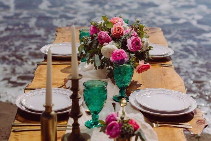 Combinações de cores para casamentos de outono 🍂 2