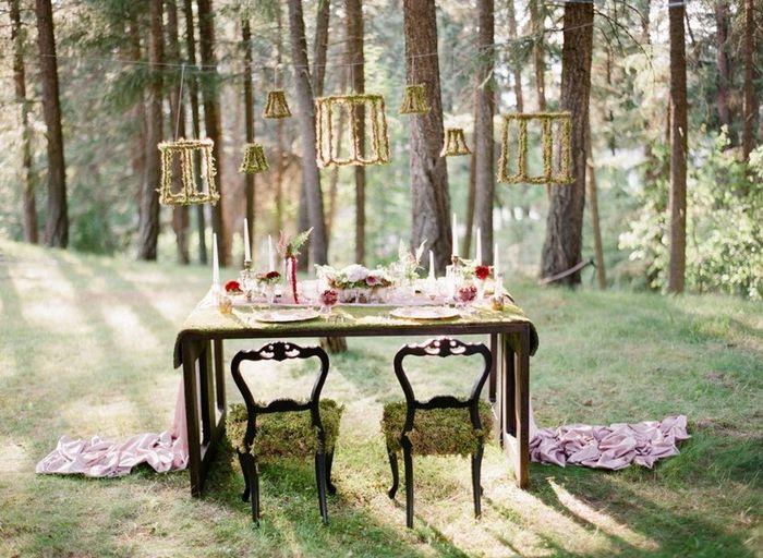 Combinações de cores para casamentos de outono 🍂 3