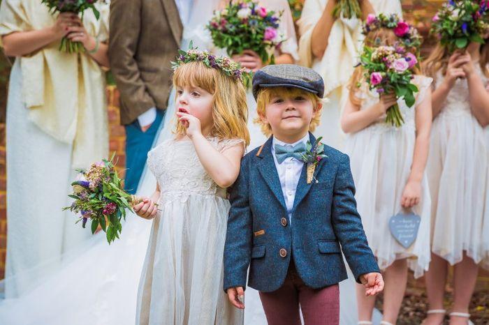 És uma noiva de casamento com ou sem crianças? 1
