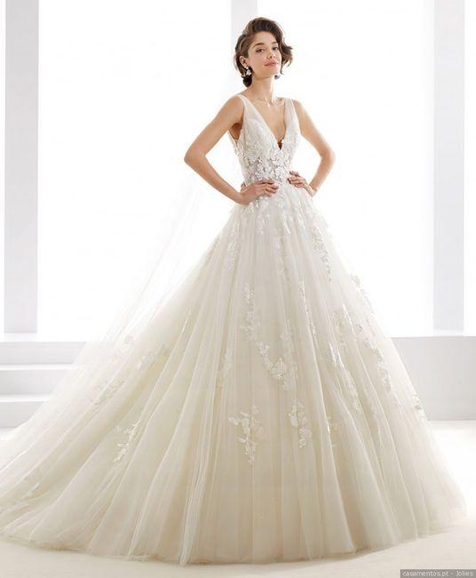 """Darias o teu """"Sim, quero"""" a este vestido PRINCESA? 1"""