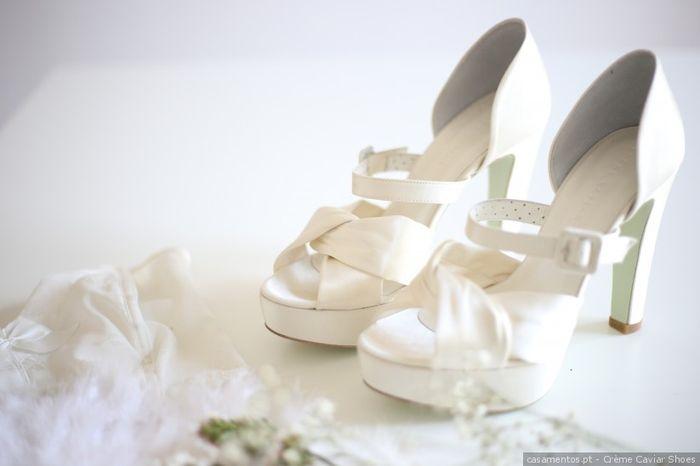 """Darias o teu """"Sim, quero"""" a estes sapatos? 1"""