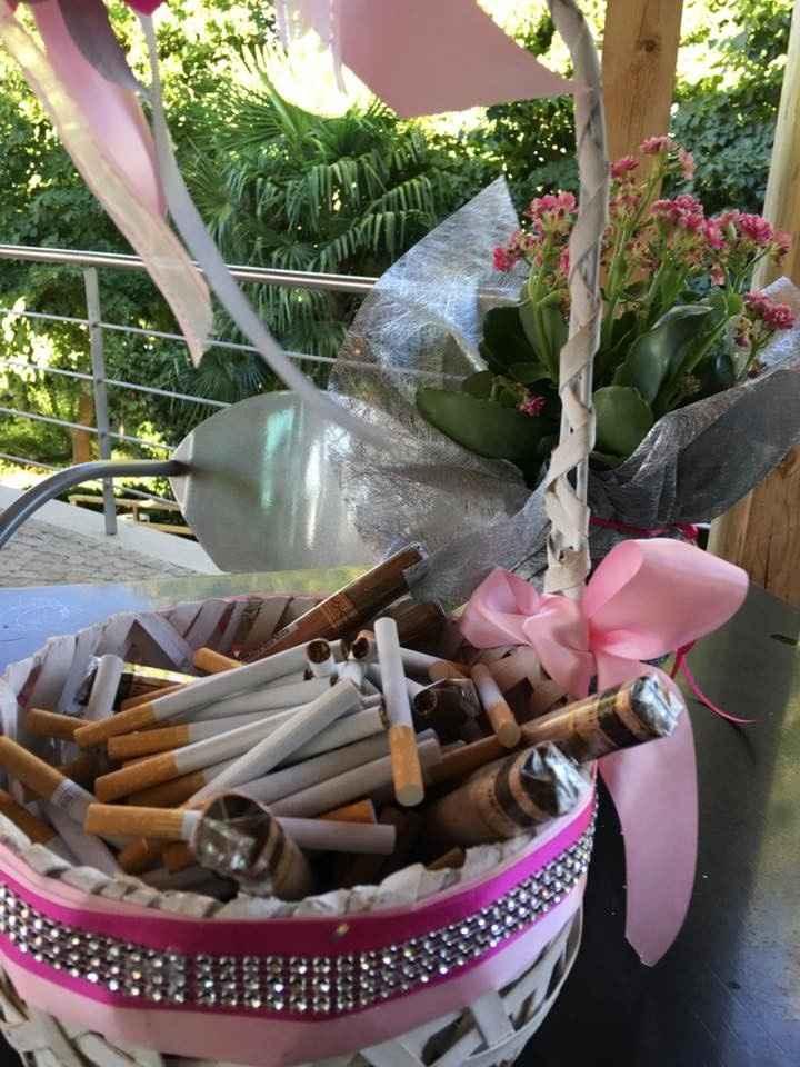 Decoração (Mesa fumadores)