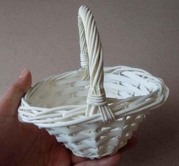 cesta branca