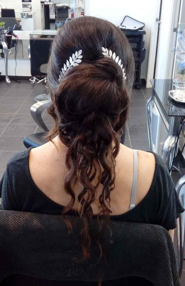 penteado trás