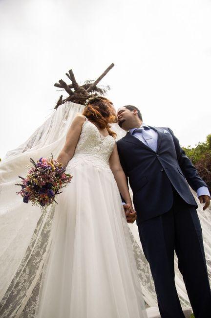 Casamento em tempos de covid - as fotos oficiais! 13