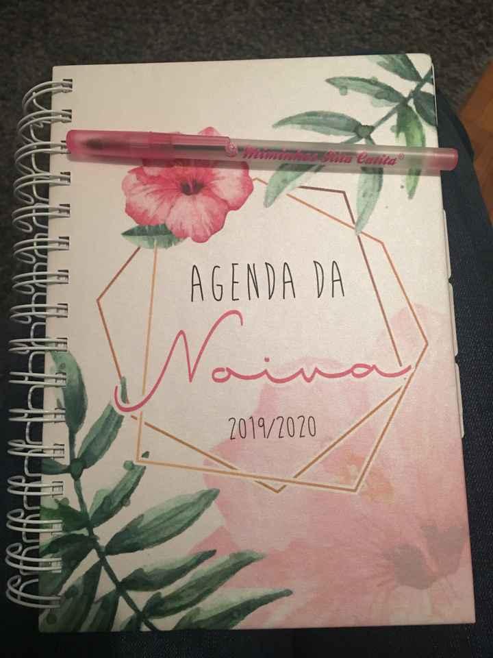 Agenda de casamento / diário de uma noiva - 1