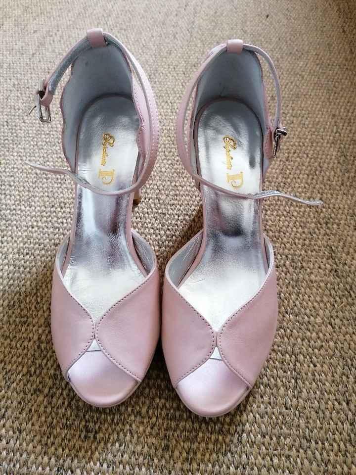 Check sapatos da noiva - 1