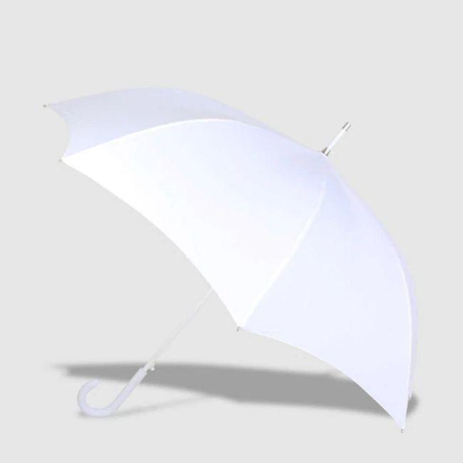 Casamentos de inverno : chapéu de chuva da noiva 2