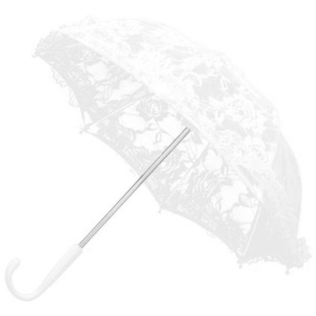 Casamentos de inverno : chapéu de chuva da noiva 3