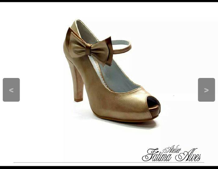 Sapatos fátima alves. - 1