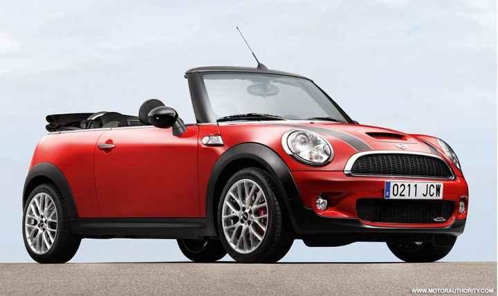 Mini Cooper vermelho