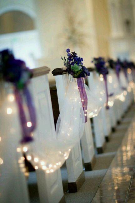 Flores para a decoração da igreja - 1