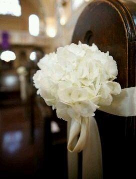 Flores para a decoração da igreja - 3