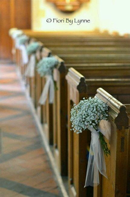Flores para a decoração da igreja - 10