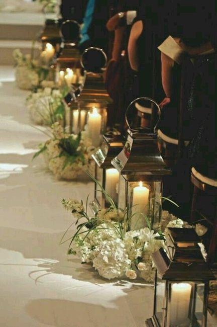 Flores para a decoração da igreja - 15