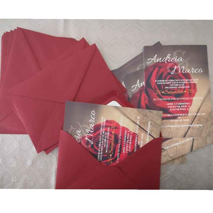 Convites 🥰 - 1