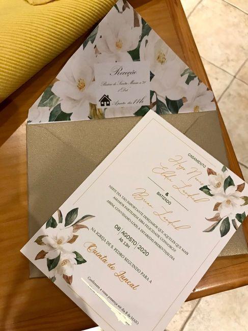 Convites, Check! - 1