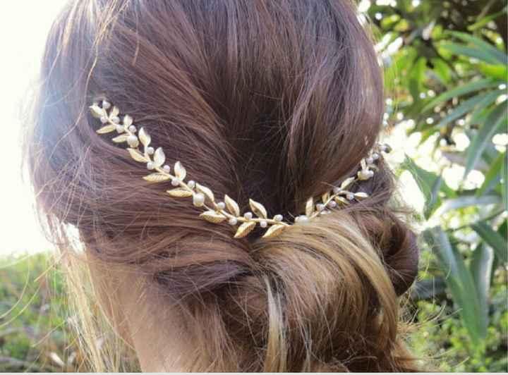 Véu / coroa de flores / tiara - 6