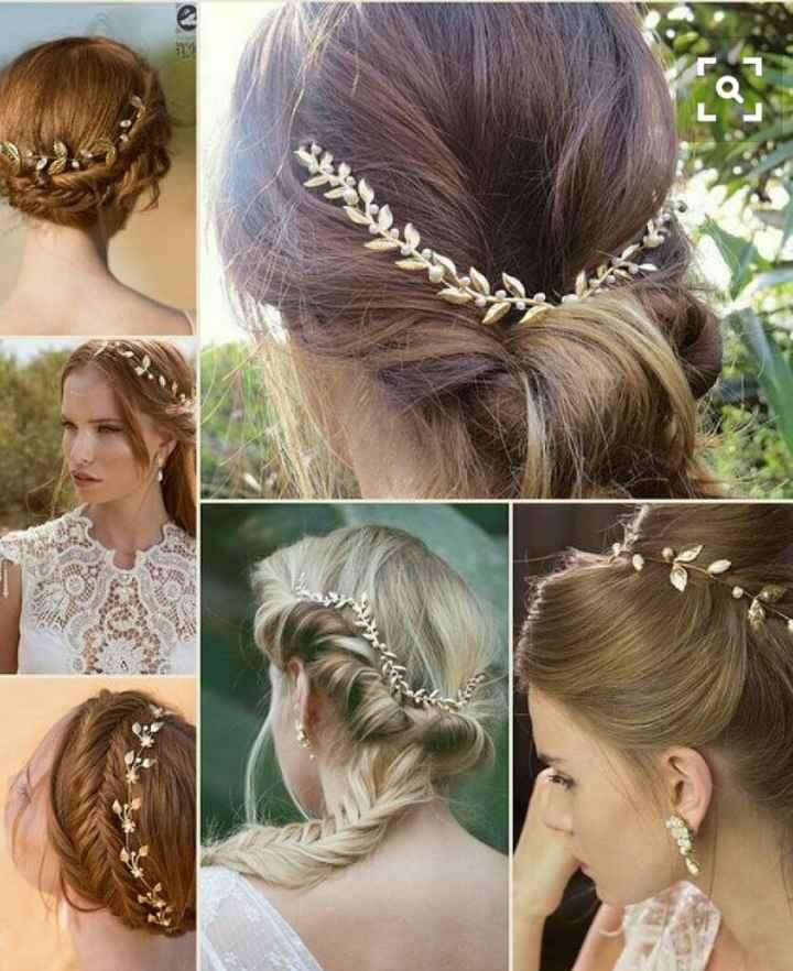 Véu / coroa de flores / tiara - 8
