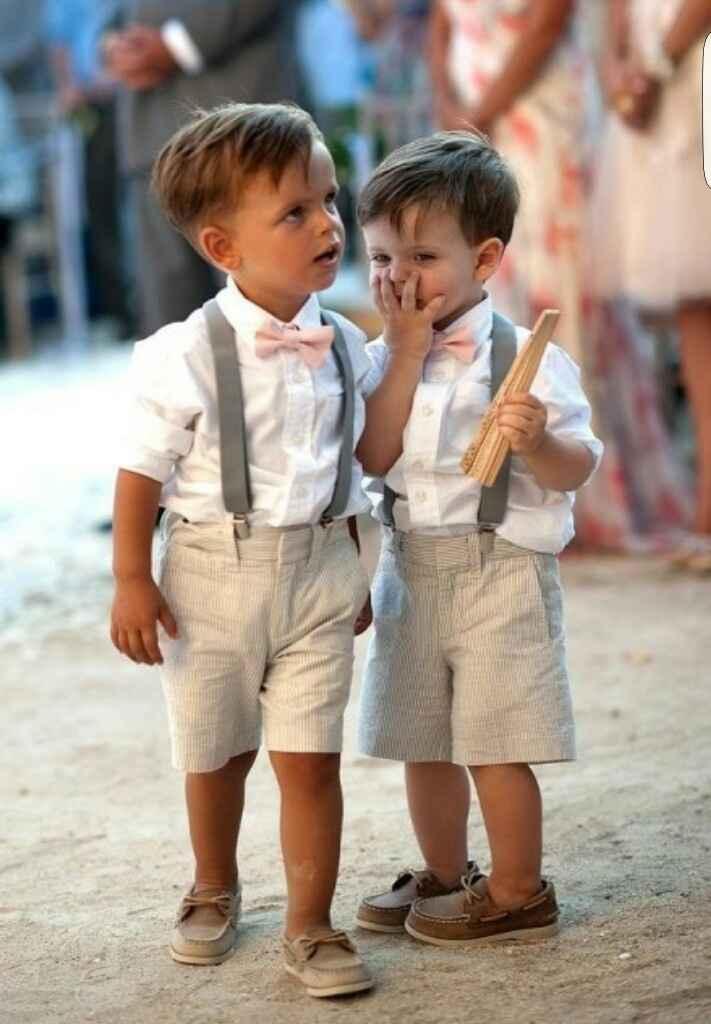 Meninos das alianças... - 1