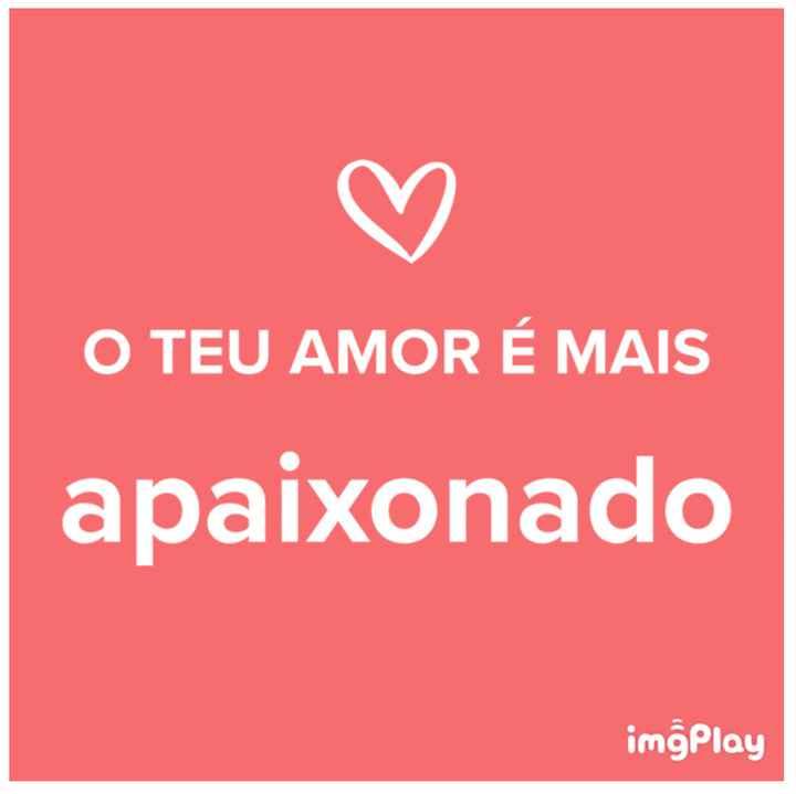 o amor da Ana é... - 1