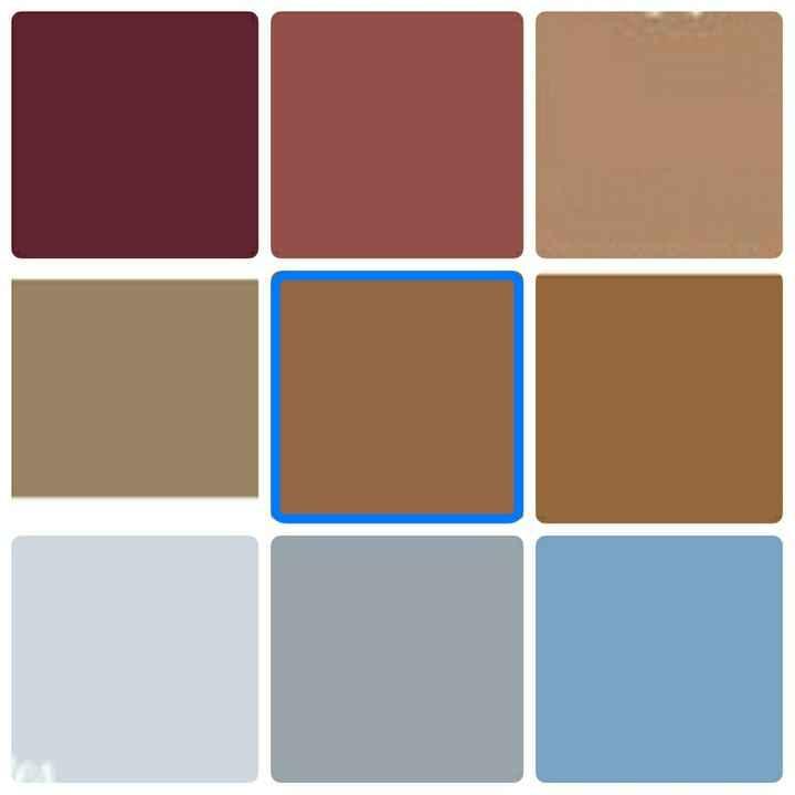 Paleta de cores - 1