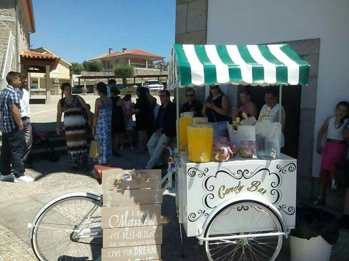 Lambreta/carrinho natas, crepes etc - 1