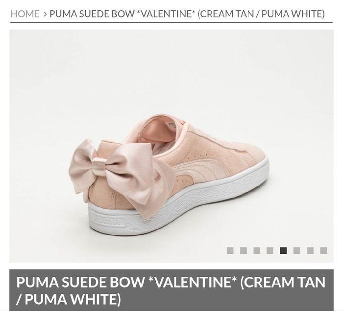 5315848b75 Novas Puma Suede Bow Valentine 2