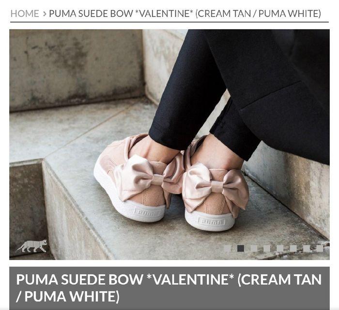 6940a8b194cac Novas Puma Suede Bow Valentine 3