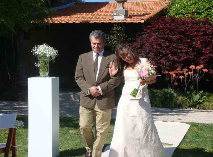 Eu a caminho de casar:)