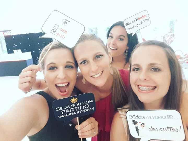 Casamento como convidada de uma noivinha da comunidade - 2