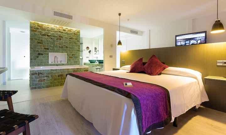 quarto do hotel