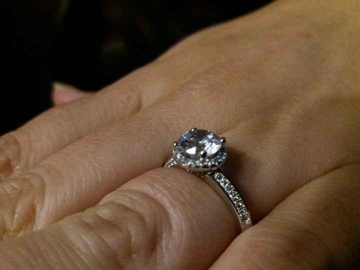 Partilhem uma foto do vosso anel de noivado - 1