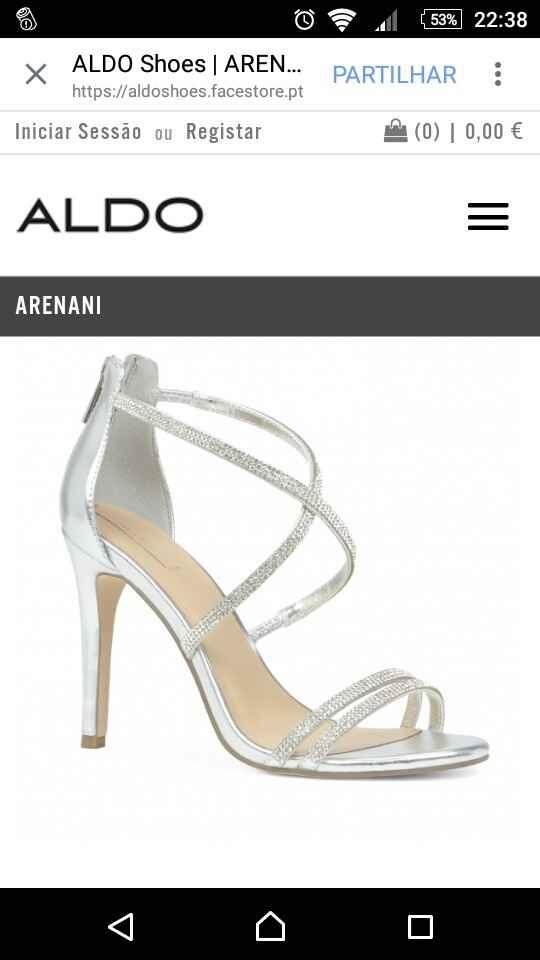 Sapatos de noiva aldo - meio check! - 1