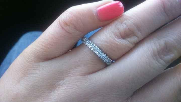 Anel de noivado - 1