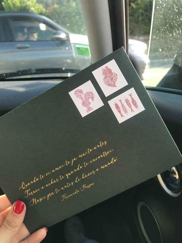 Os convites ☺️😍 - 1