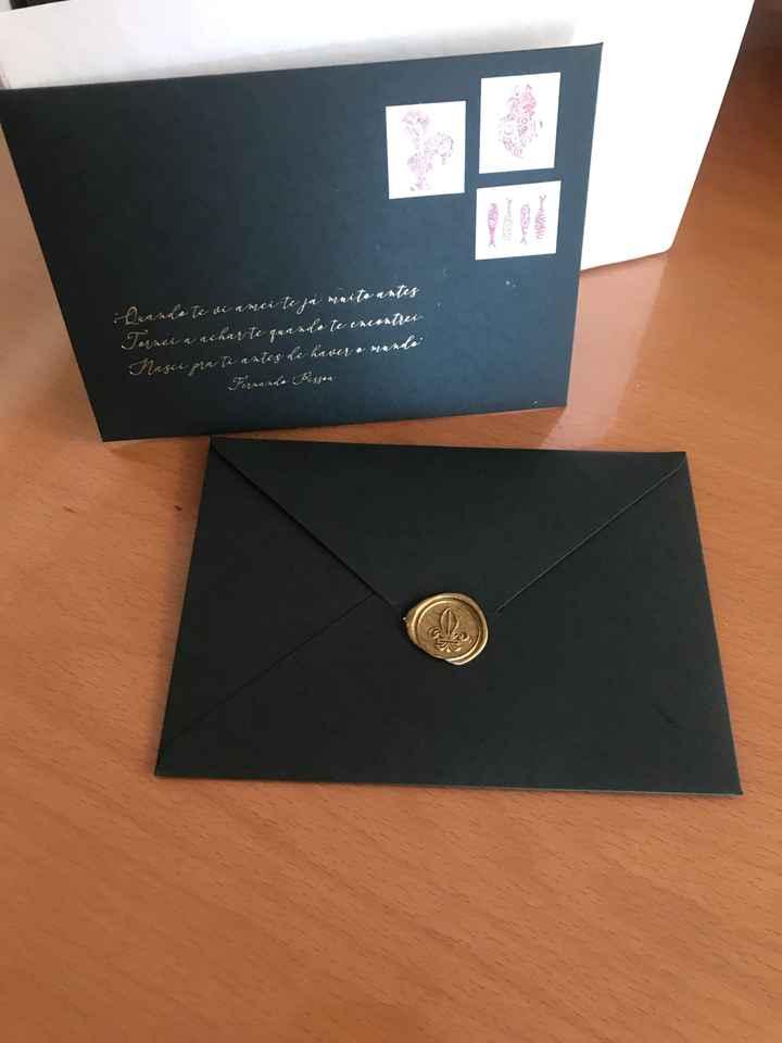 Os convites ☺️😍 - 5