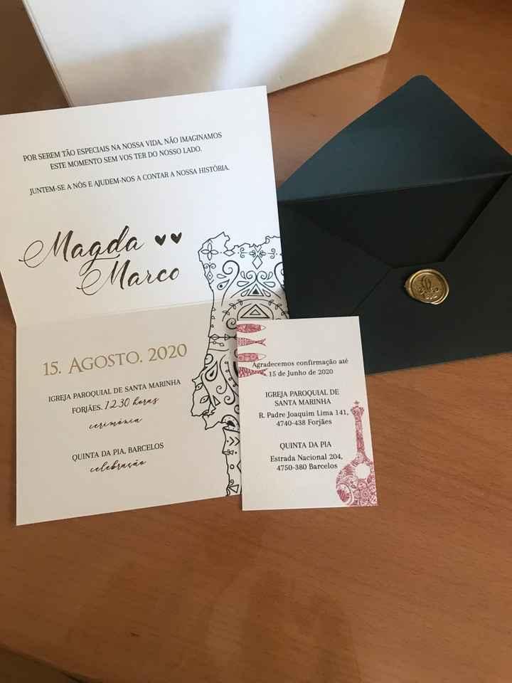 Os convites ☺️😍 - 7