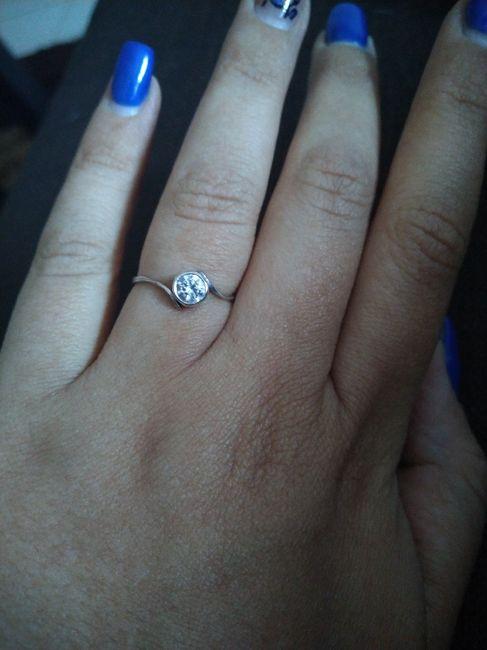 Boa noite :) Adorava ver os vossos anéis de noivado :) Quem quer partilhar? 9