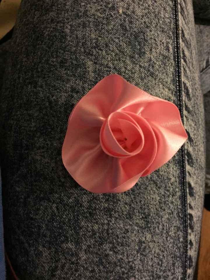 'flor' de lapela - 1