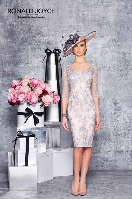 Vestido de noiva de bodas de prata