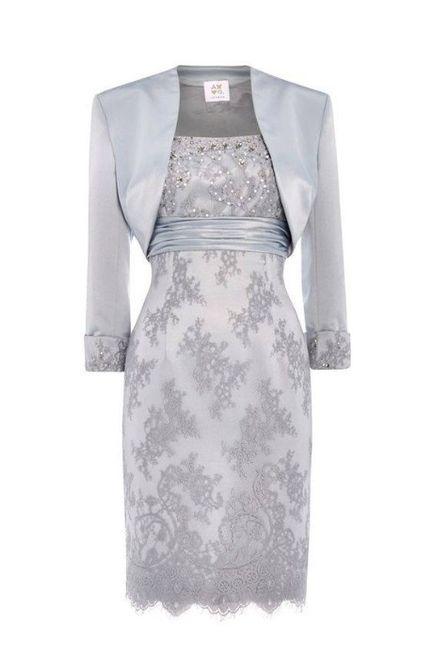 Vestidos para cerimonia de bodas de prata