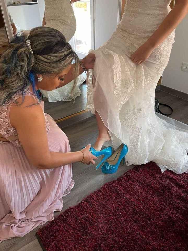 Posso usar sapato azul no meu casamento? - 1