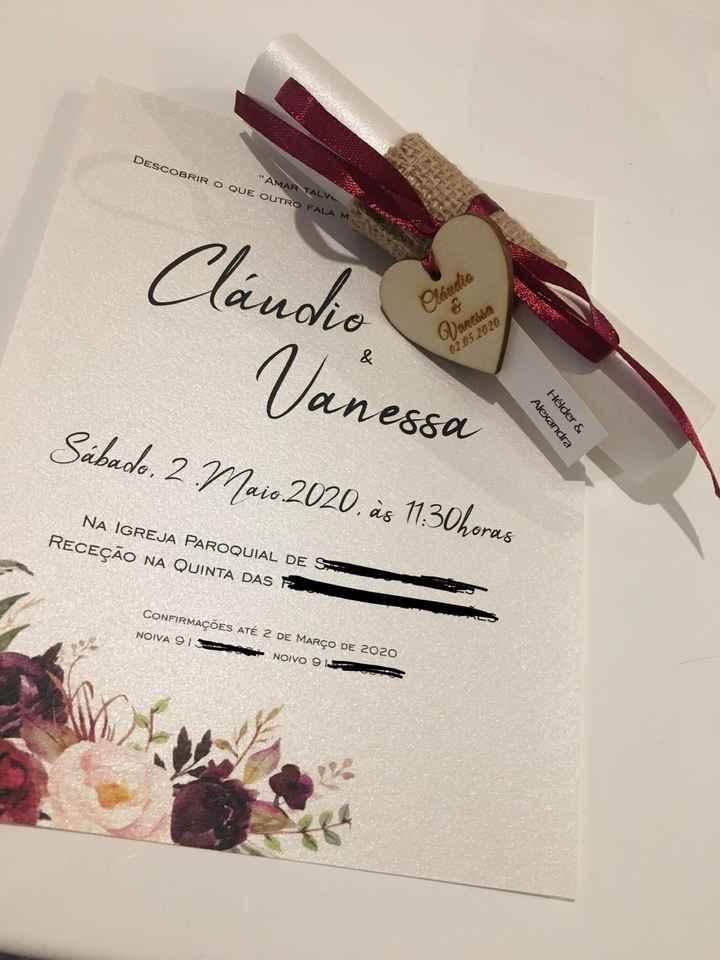 🎀 Convites ✅ - 1